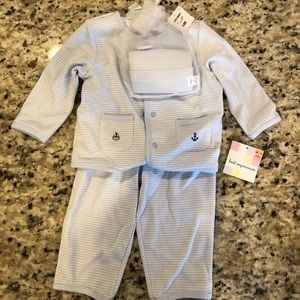 NWT baby outfit with matching hat